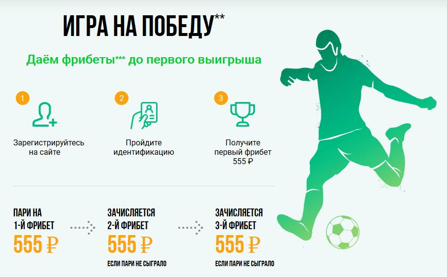 Liga Stavok бонусы при регистрации